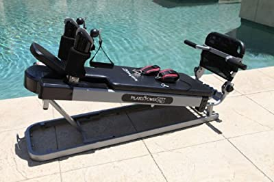 Pilates Power Gym Pro Cardio Package (Incl. Power Flex Cardio Rebounder & 4 Pilates Workout DVDs)