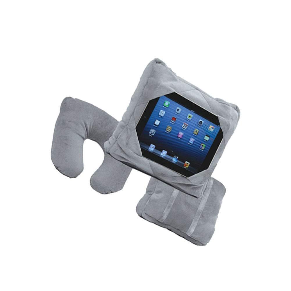 Gris Beito Neuf EZ Taie doreiller 3/en 1/Voyage Tablette iPad Coque Support de Fixation Multifonctionnel