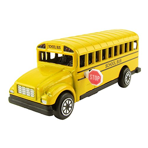 Driver Diecast (School Bus Die Cast Pencil Sharpener)
