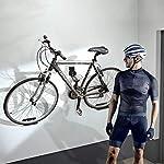 Sanggi-3-in-1-Supporto-da-Parete-per-Bicicletta-Gancio-Pedale-per-Biciclette-Portabici-da-Muro-Staffa-a-Muro-Appendi-Bici-per-Interni-ed-Esterni-con-Supporti-per-Pneumatici