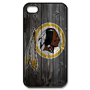 iphone 4/4s Covers Hard Back Protective-Cute NFL Washington Redskins Football Sports Case Perfect as Christmas gift(1)
