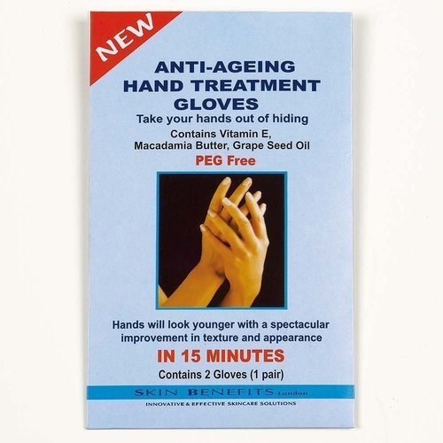 Skin Benefits Anti Ageing Hand Treatment Gloves (2 gloves) betterware