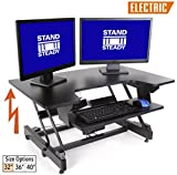 """FlexPro Power 32 inch Electric Standing Desk from Award-Winning Stand Steady 