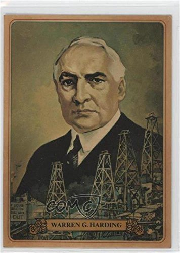 Warren G. Harding COMC REVIEWED Good to VG-EX (Trading Card) 1976 Bel-Art Know Your U.S. Presidents - Food Issue [Base] - Colonial Bread #28 -