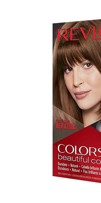 Revlon ColorSilk Tinte de Cabello Permanente Tono #43 Castaño ...