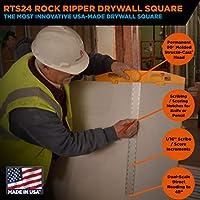 RTS24 JOHNSON Aluminum Body with Orange Plastic Head Drywall Scoring Square