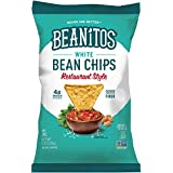 Beanitos Restaurant Style White Bean Chips with Sea Salt Plant Based Protein Good Source Fiber Gluten Free Non-GMO Vegan Corn Free Tortilla Chip Snack 6 Ounce (Pack of 6)
