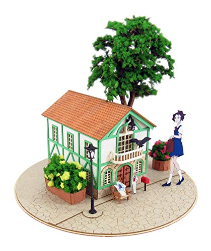 [Miniatuart] Limited Edition `The Cat Returns` Cat`s Office (Unassembled Kit)... by Ghibili