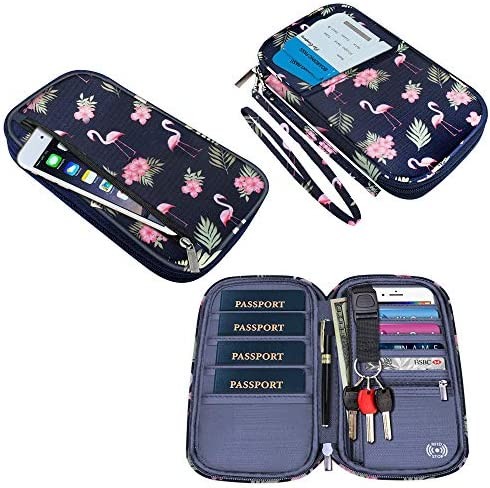 Passport Waterproof Document Organizer Flamingo product image
