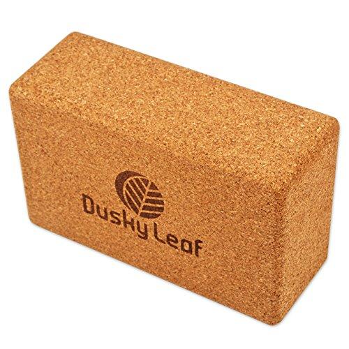 Dusky Leaf Cork Yoga Block