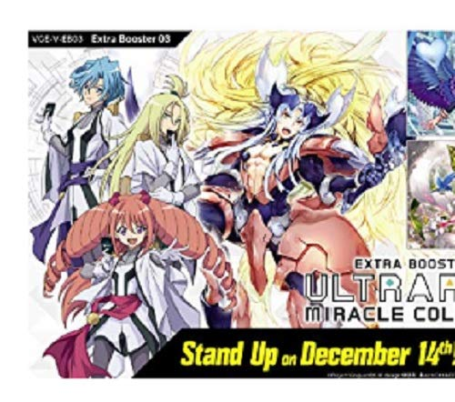- Cardfight Vanguard English V: ULTRARARE Miracle Collection Extra Booster Box V-EB03 12 Packs!