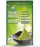 Matcha Green Tea Powder - Powerful Antioxidant - Japanese Organic Culinary Grade Matcha - 4 oz (113 grams) - Increases Energy and Focus and Naturally Supports Weight Loss - From Kiss Me Organics