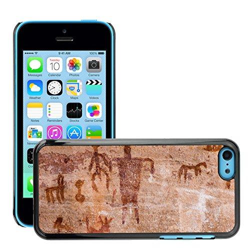 Premio Sottile Slim Cassa Custodia Case Cover Shell // V00002330 Petroglyphs // Apple iPhone 5C