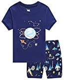 Kyпить Family Feeling Space Little Boys Shorts Set Pajamas 100% Cotton Clothes Kids 6 на Amazon.com