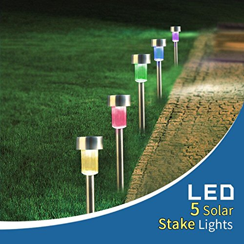 Solar Garden Lights That Change Colour in US - 8