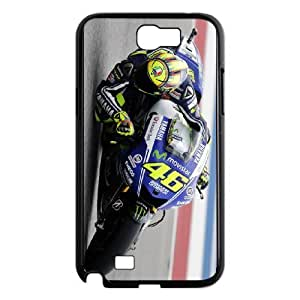 Samsung Galaxy Note 2 N7100 Phone Case for Valentino Rossi pattern design GQ35VRS8312