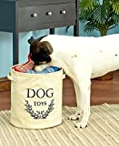 Dog Toy Storage Bucket (Beige)