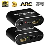 Best HDMI Splitters With Audios - ARC Audio Extractor HDMI Adapter to Optical Toslink Review