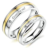 Best Aooaz Friends Unisex Rings - Aooaz Stainless Steel Rings Wedding Rings Friendship Rings Review
