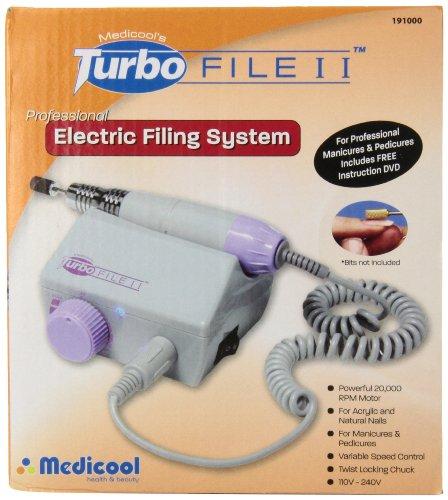 MED2191 Turbo Medicool Fichier 2 du système de dépôt des ongles électrique professionnel