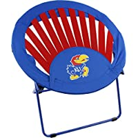 College Covers Kansas Jayhawks NCAA Rising Sun Bungee Chair