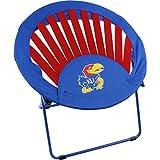 College Covers Kansas Jayhawks NCAA Rising Sun Bungee Chair