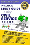 Practical Study Guide in taking the Civil Service Exams and different type of test.
