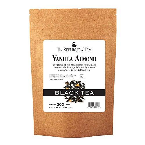 The Republic of Tea Vanilla Almond Black Full-Leaf Tea, 1 Pound / 200 Cups ()