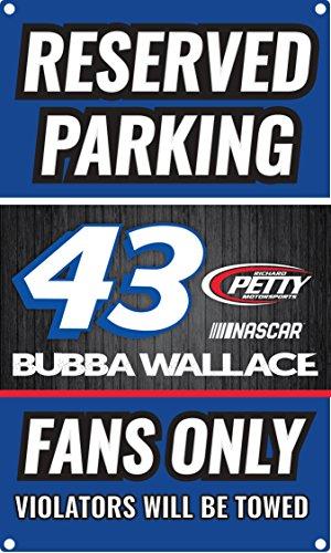 Bubba Wallace #43 NASCAR Metal Sign