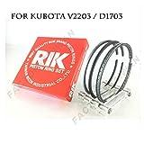 Riken Piston Ring STD 87mm for KUBOTA D1703 / V2203