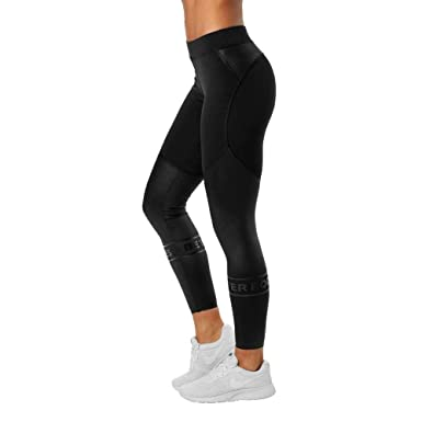 0527cd610bee3 Better Bodies Chrystie Shiny Active Tights Leggings at Amazon Women's  Clothing store: