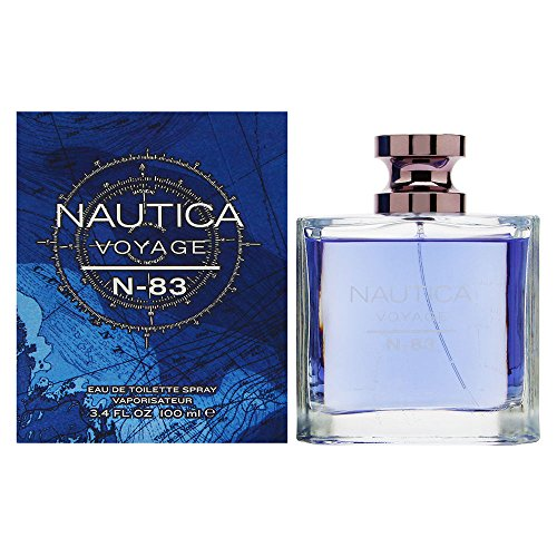 Nautica Voyage N-83 Eau de Toilette Spray, 3.4 Ounce - Escape 3.4 Ounce Edp