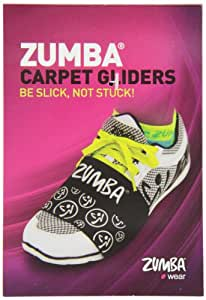 Amazon Com Zumba Carpet Gliders For Shoes Sports Amp Outdoors