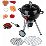 Theo Klein Pretend Play Weber Grill, Includes Accessories Such As Play Food T-bone
