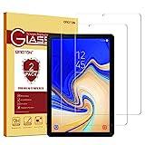 Samsung Galaxy Tab S4 Screen Protector [2 Pack], OMOTON Tempered Glass Screen Protector for Samsung Galaxy Tab S4 10.5 inch