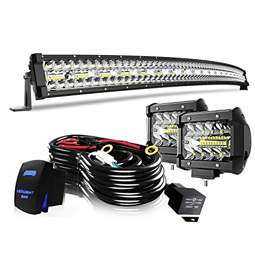 Top 10 recommendation led curved light bar 52 inch for 2020