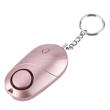 Llavero de alarma Safesound, autodefensa 130db con silbato ...