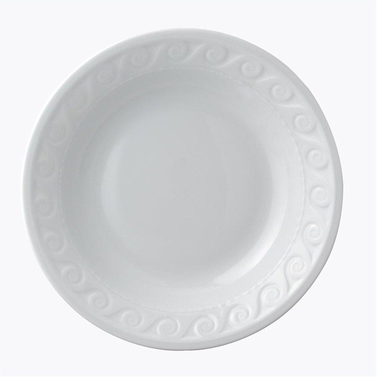 Bernardaud Louvre White Open Vegetable Bowl