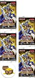 yugioh mixed deck - Yugioh Rivals of Pharaoh Duelist Pack Lot of 4 Booster Packs and a Treasure Chest Button