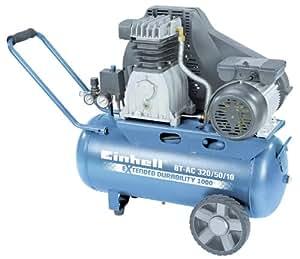 Einhell BT-AC 320/50/10 - aerosol de aire comprimido (60 kg) Negro, Azul