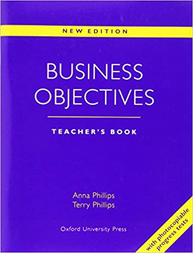 Amazon business objectives teachers book 9780194513937 business objectives teachers book teachers guide ed edition fandeluxe Choice Image