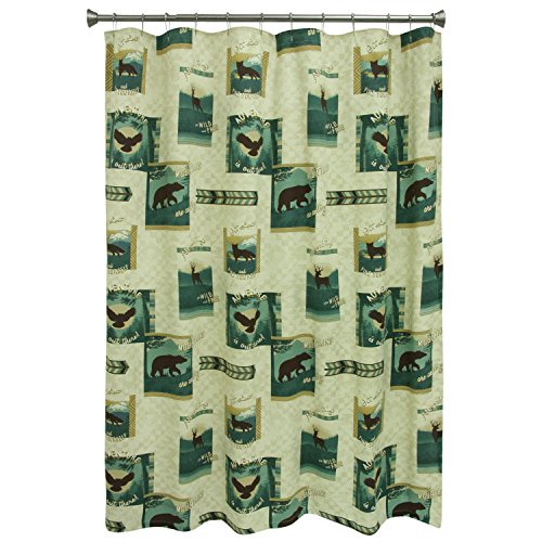 (Bacova Guild Discover The Wild Shower Curtain)