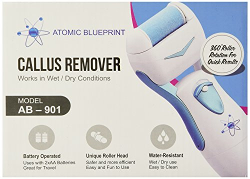 Fastest electric callus remover 2 bonus rollers beautiful soft best cracked heel relief wear any shoes or be barefoot again atomic blueprint health personal care 16 customer reviews malvernweather Image collections