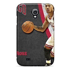 AnnaDubois Samsung Galaxy S4 Protector Cell-phone Hard Cover Support Personal Customs Colorful Chicago Bulls Pictures [iay15542AqJl]