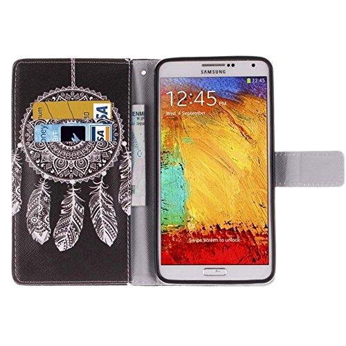 Funda Iphone, Sexy Lady patrón horizontal Flip caja de cuero con titular y ranuras para tarjetas y cartera para la nota de la galaxia de Samsung III / N9000 ( SKU : S-SCS-9661A ) S-SCS-9661F