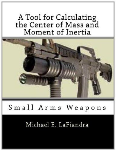 A Tool for Calculating the Center of Mass and Moment of Inertia: Small Arms Weapons (Center Of Mass And Moment Of Inertia)