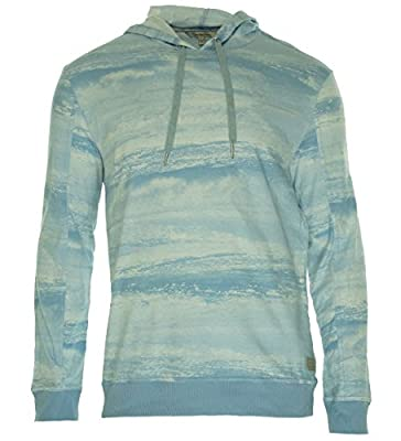 Calvin Klein Jeans Men's Wave-Graphic Long-Sleeve Hoodie Shirt