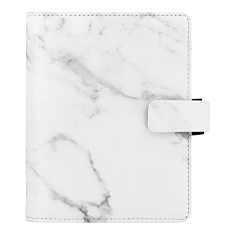 Filofax 2019 Pocket Organizer, Patterns Marble, 4.75 x 3.25 inches (C028705-19)