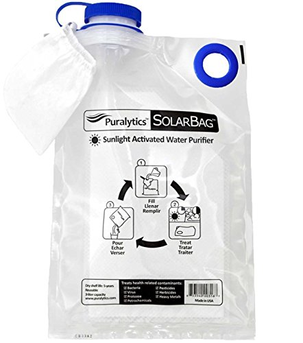 Solar Water Purification (Puralytics SolarBag Water Purifier (3-Litre))