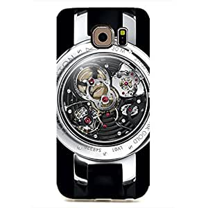 Personalized Louis Vuitton Watch Phone Case 3D Hard Plastic Case Cover Snap on Samsung Galaxy S6 EDGE